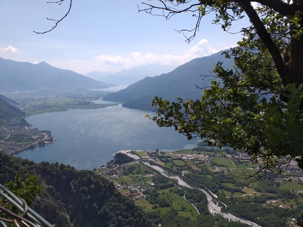 Lago di Codera visto da San Giorgio